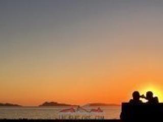 Atardecer Islas Cíes por Manuel Herranz