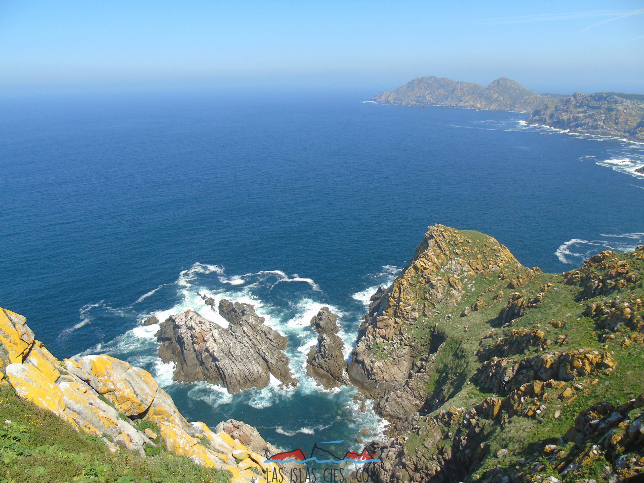 Vista desde el Faro de Cíes