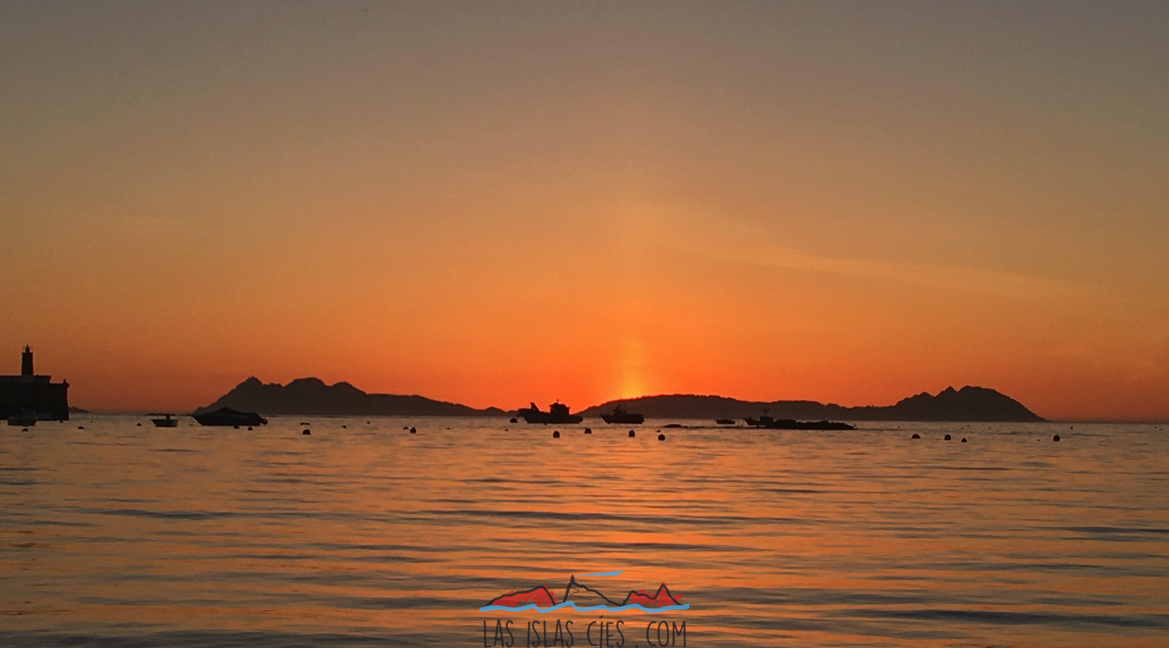 Islas Cíes vistas desde Canido