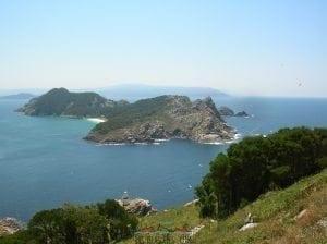 Cíes desde el Faro Da Vela
