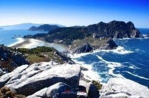 Islas Cíes Vista Panorámica