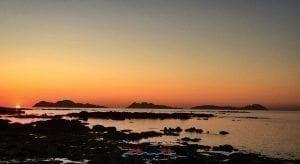 Atardecer Islas Cíes