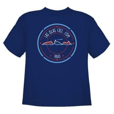 Camiseta Islas Cíes NIÑO_MARINO frente