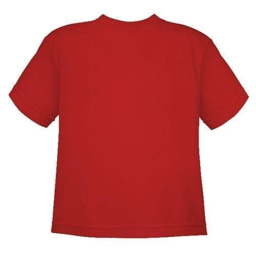 Camiseta Islas Cíes NIÑO_ROJO trasera
