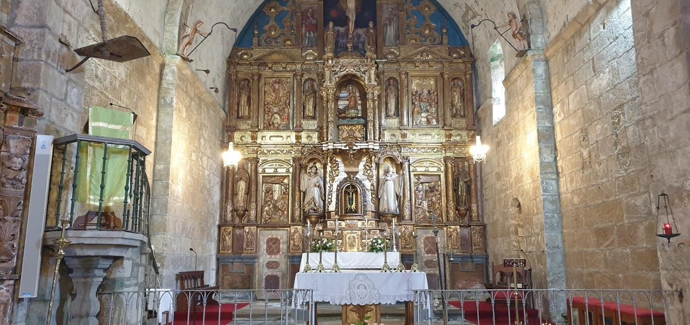 Capilla del Monasterio de Oia