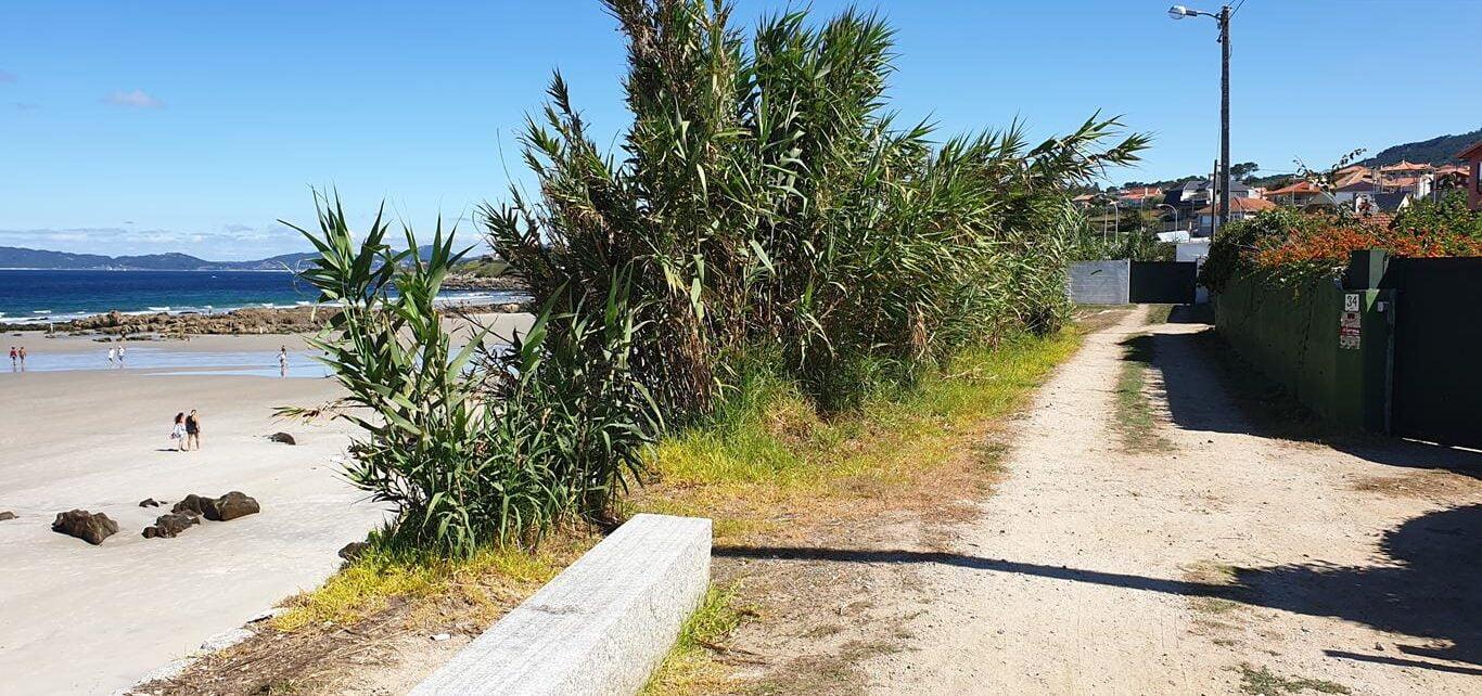 Camino de la playa de Patos a Prado