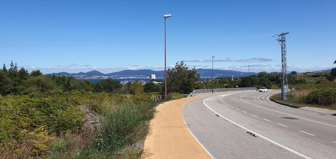 Carretera Nacional hacia Canido