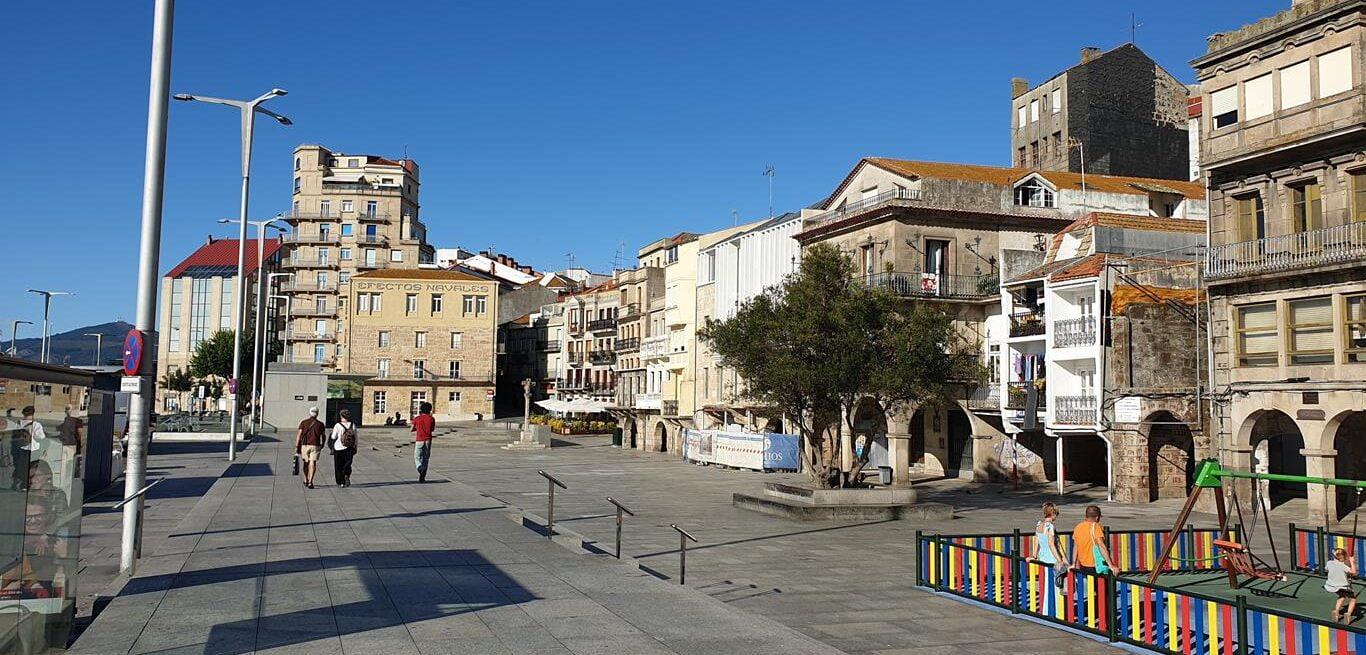 Zona baja del Casco Viejo de Vigo