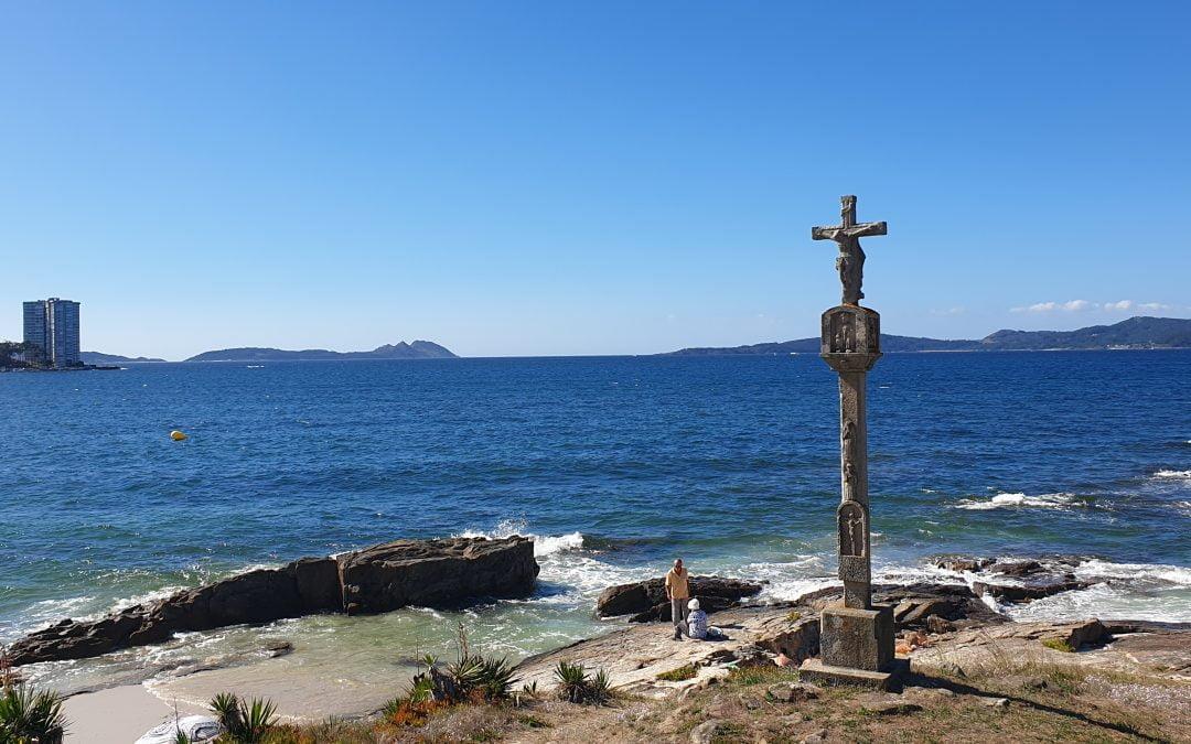 Tercera Etapa del Camino de Santiago por la Costa desde la Guardia: Baiona-Vigo 25 km