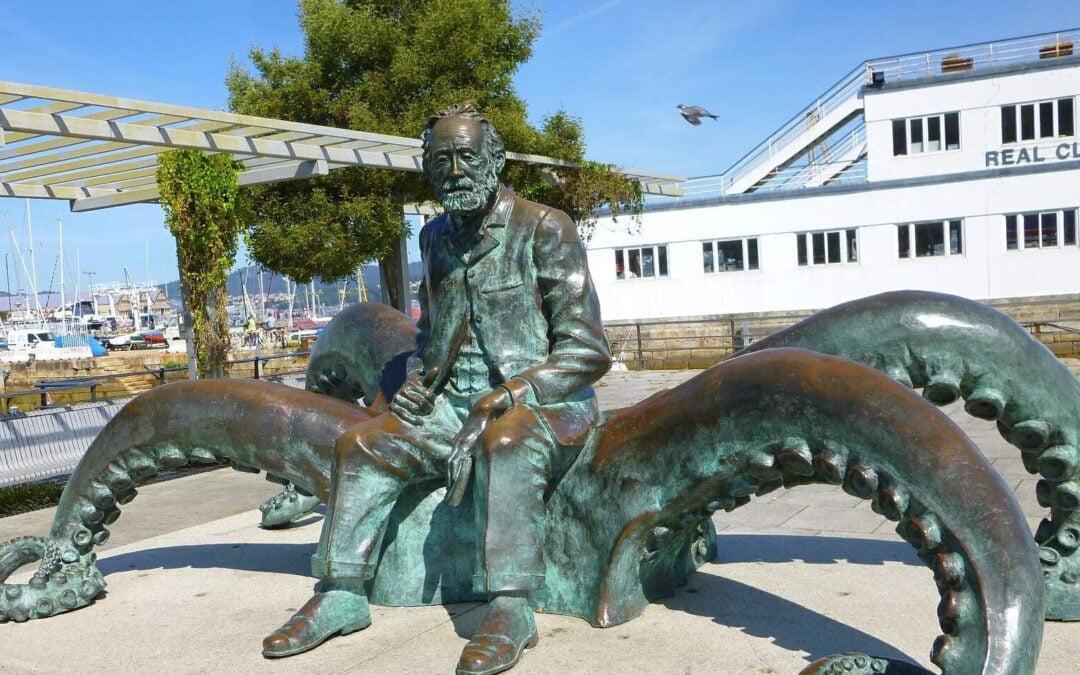 Julio Verne en la Ría de Vigo