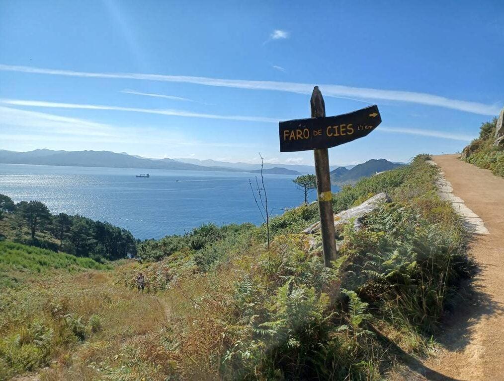 Ruta al Faro de Cíes